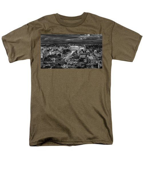 Men's T-Shirt  (Regular Fit) featuring the photograph Il Colosseo by Sonny Marcyan