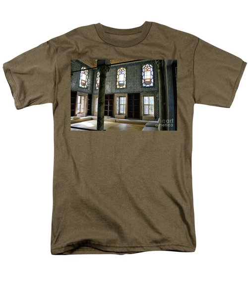 Men's T-Shirt  (Regular Fit) featuring the photograph Inside The Harem Of The Topkapi Palace by Patricia Hofmeester