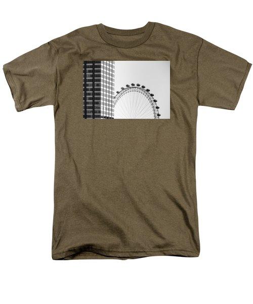 London Eye Men's T-Shirt  (Regular Fit) by Joana Kruse