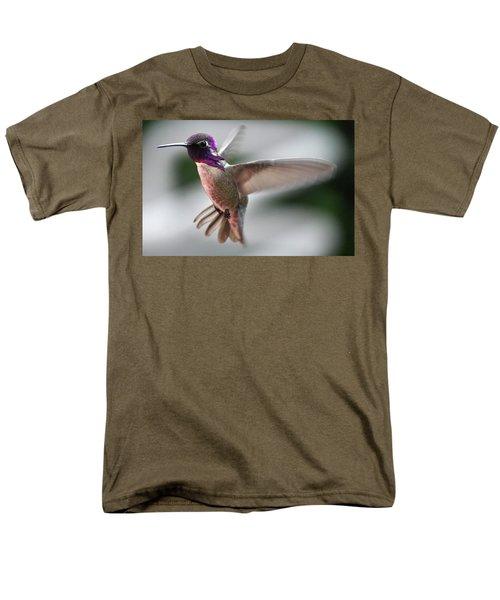 Male Anna's In Flight Men's T-Shirt  (Regular Fit) by Jay Milo
