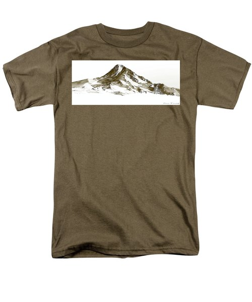Mt. Hood Men's T-Shirt  (Regular Fit) by Steve Warnstaff