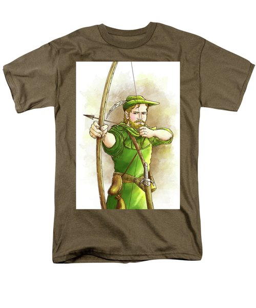 Robin Hood The Legend Men's T-Shirt  (Regular Fit) by Reynold Jay