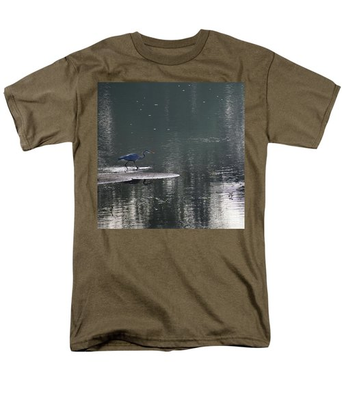 Men's T-Shirt  (Regular Fit) featuring the photograph Stalker  by Skip Willits