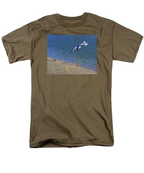 2 Terns In Flight Men's T-Shirt  (Regular Fit) by Robb Stan
