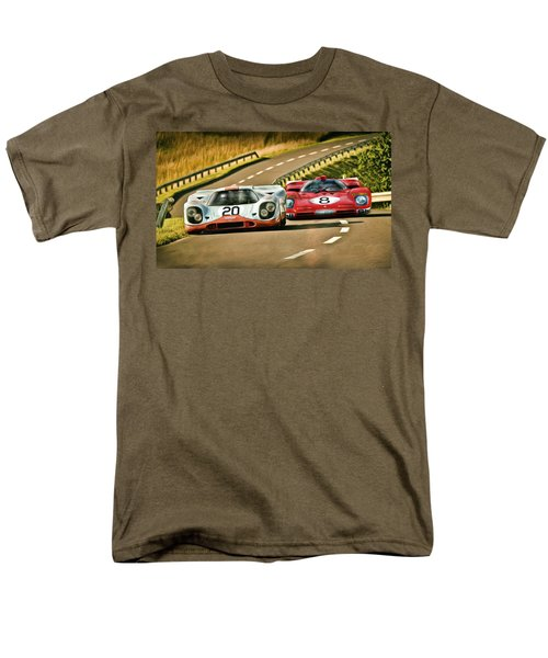 The Duel Men's T-Shirt  (Regular Fit) by Peter Chilelli