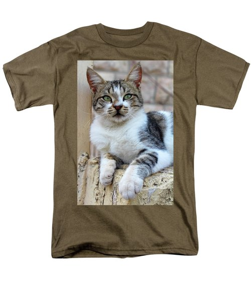 Men's T-Shirt  (Regular Fit) featuring the photograph The Wait by Munir Alawi