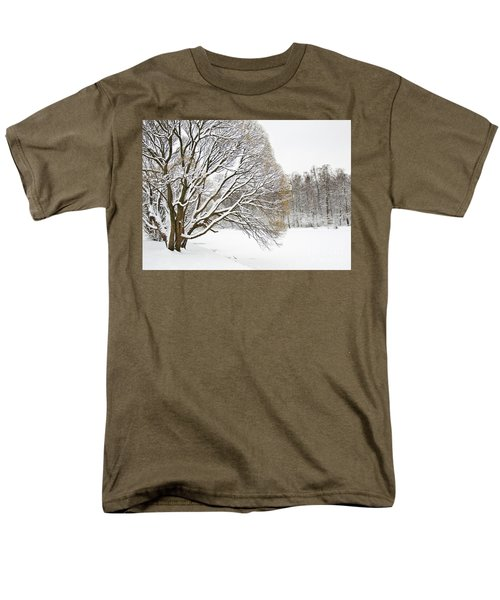 Winter Park Men's T-Shirt  (Regular Fit) by Irina Afonskaya