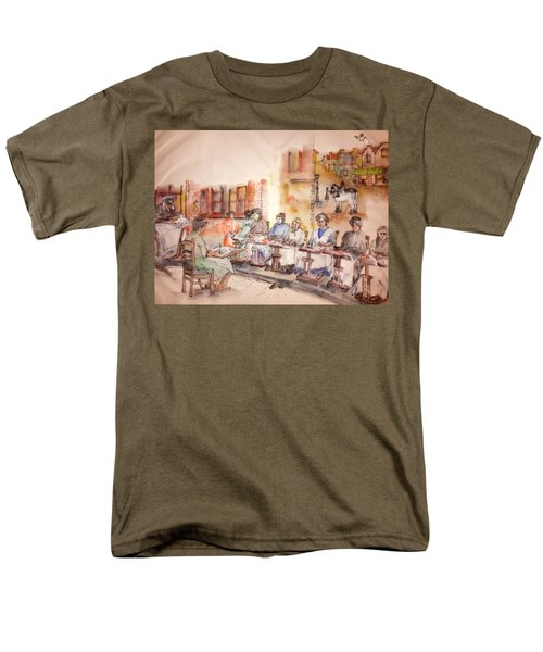 Of Clogs And Windmills Album Men's T-Shirt  (Regular Fit) by Debbi Saccomanno Chan