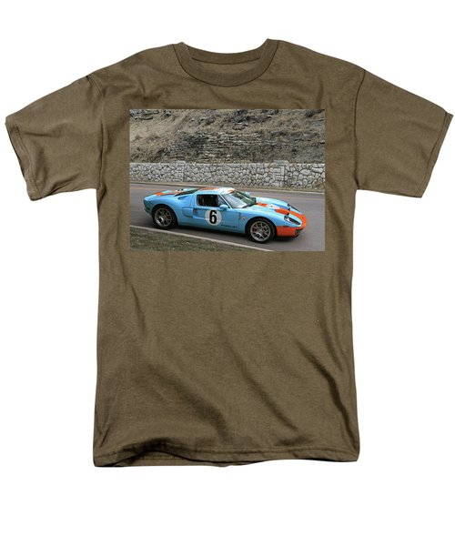 Men's T-Shirt  (Regular Fit) featuring the photograph 2006 Ford Gt  by Christopher McKenzie