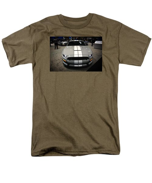 2016 Preproduction Ford Mustang Shelby Gt350 Men's T-Shirt  (Regular Fit) by Mike Martin