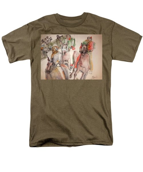 Il Palio Contrada  Lupa Album Men's T-Shirt  (Regular Fit) by Debbi Saccomanno Chan