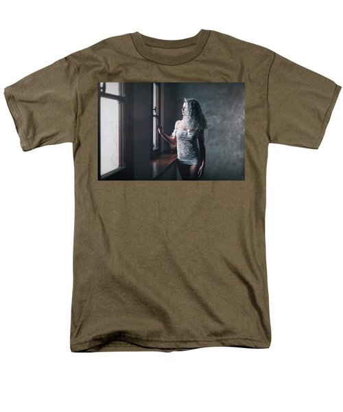 Men's T-Shirt  (Regular Fit) featuring the photograph Tu M'as Promis by Traven Milovich