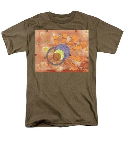 Men's T-Shirt  (Regular Fit) featuring the mixed media 2life by Desiree Paquette