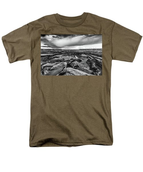 Men's T-Shirt  (Regular Fit) featuring the photograph Dead Horse Point by Jay Stockhaus