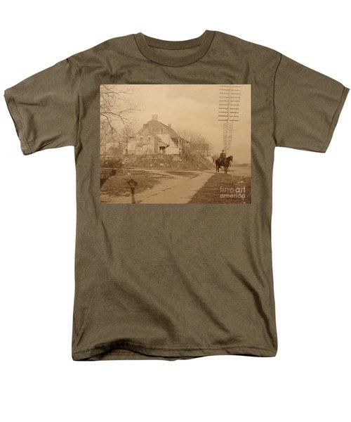 Dyckman Farmhouse  Men's T-Shirt  (Regular Fit) by Cole Thompson