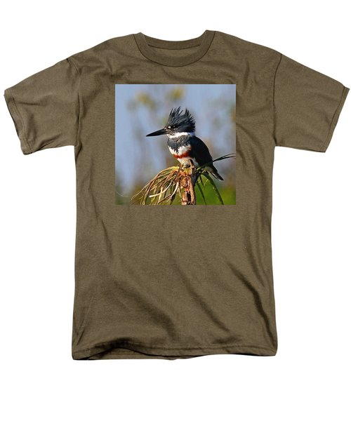 Female Belted Kingfisher Men's T-Shirt  (Regular Fit)