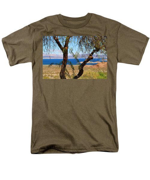 Hoover Dam Visitor Center Men's T-Shirt  (Regular Fit) by Kathryn Meyer