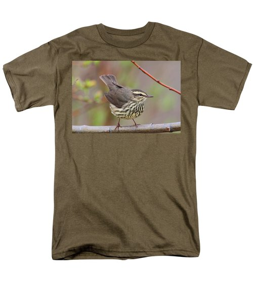 Northern Waterthrush Men's T-Shirt  (Regular Fit) by Doug Lloyd
