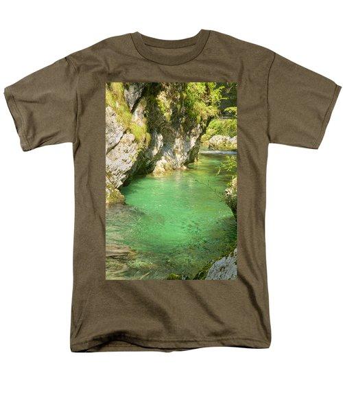 The Vintgar Gorge Men's T-Shirt  (Regular Fit) by Ian Middleton