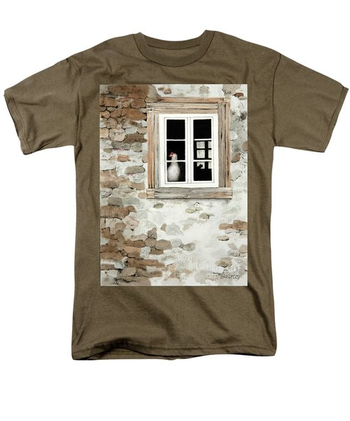 Window Dressing Men's T-Shirt  (Regular Fit)