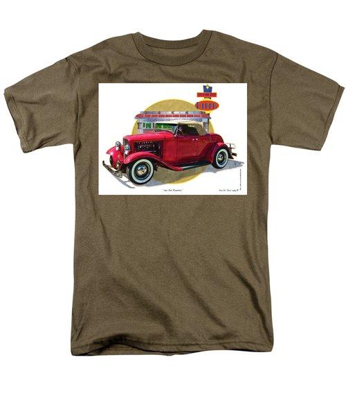 32 Red Roadster Men's T-Shirt  (Regular Fit)