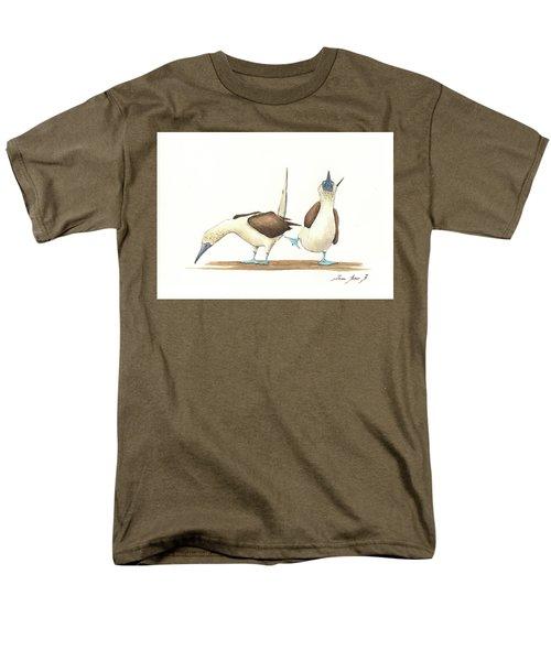 Blue Footed Boobies Men's T-Shirt  (Regular Fit)