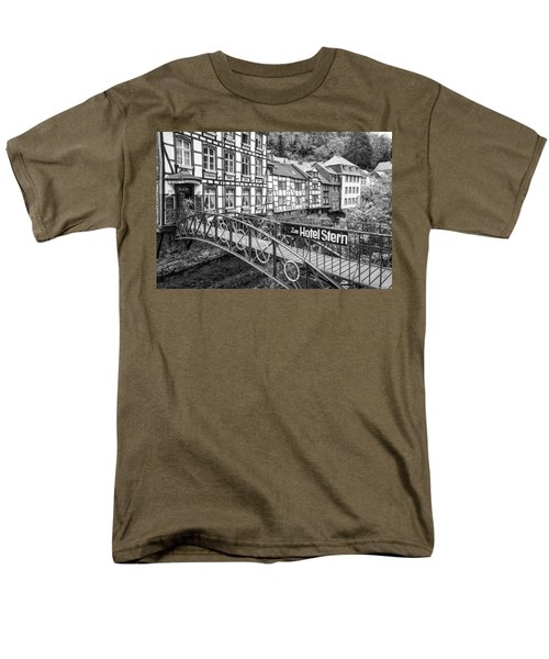 Monschau In Germany Men's T-Shirt  (Regular Fit) by Jeremy Lavender Photography