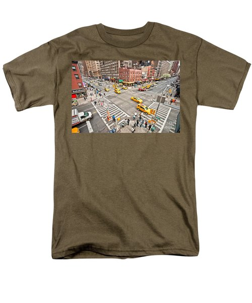 New York City Men's T-Shirt  (Regular Fit) by Luciano Mortula