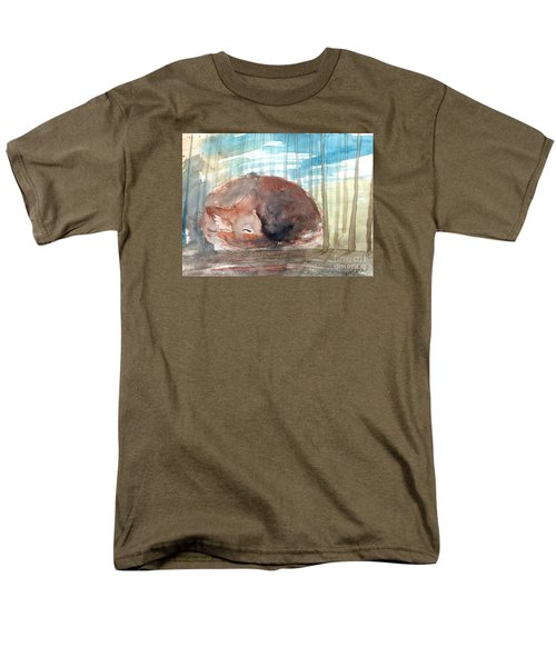 Men's T-Shirt  (Regular Fit) featuring the painting Peace by Trilby Cole