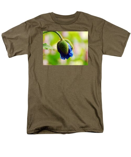 Men's T-Shirt  (Regular Fit) featuring the photograph Waiting by Zinvolle Art