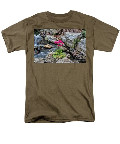Men's T-Shirt  (Regular Fit) featuring the photograph Dallas Arboretum by Diana Mary Sharpton