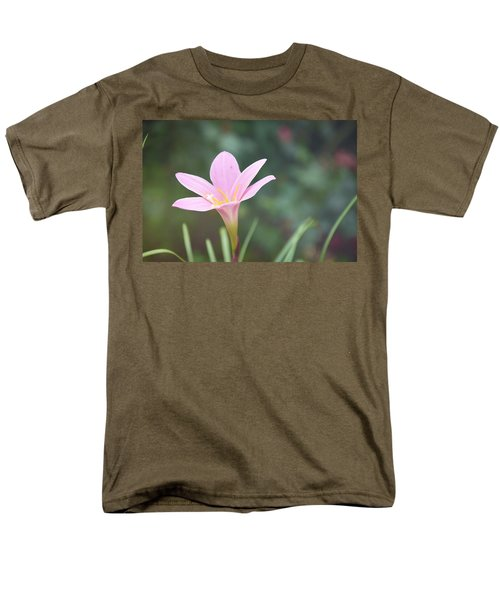 Pink Flower Men's T-Shirt  (Regular Fit) by Gordana Stanisic