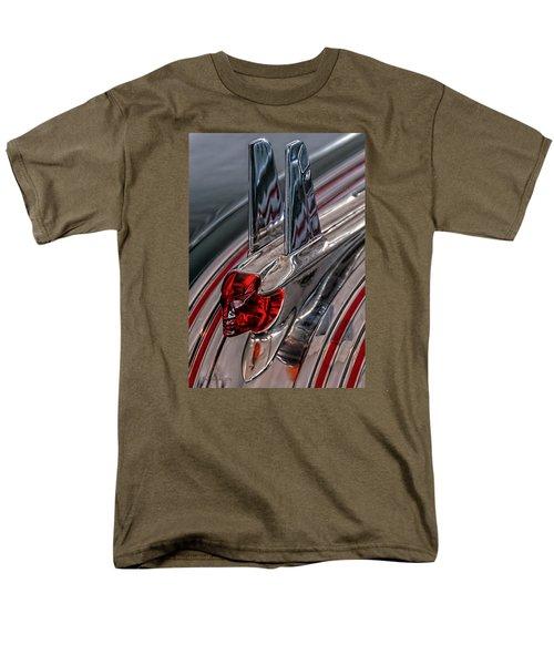 Men's T-Shirt  (Regular Fit) featuring the photograph 53 Pontiac Chieftan Hood Ornament by Trey Foerster