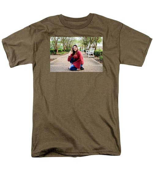 Men's T-Shirt  (Regular Fit) featuring the photograph 5539 by Teresa Blanton