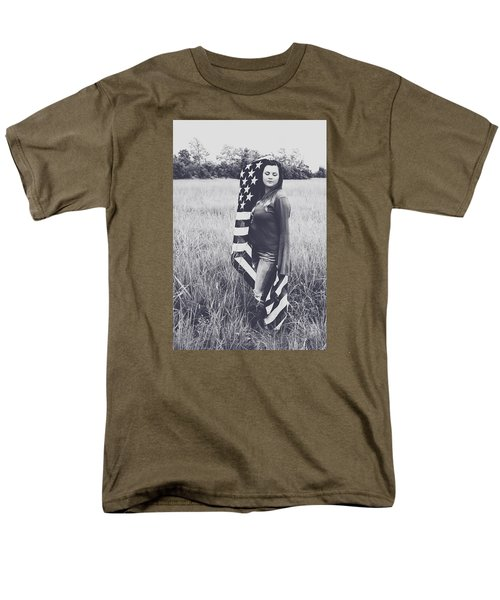 Men's T-Shirt  (Regular Fit) featuring the photograph 5624-4 by Teresa Blanton