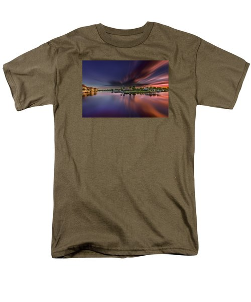 Sunrise At Naples, Florida Men's T-Shirt  (Regular Fit) by Peter Lakomy