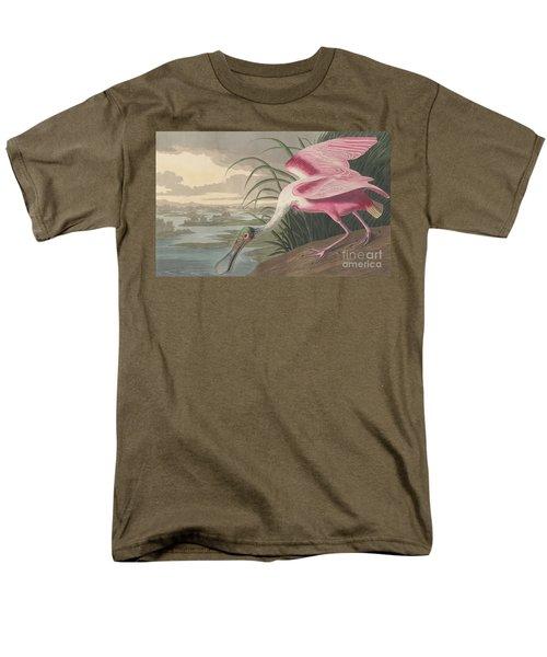 Roseate Spoonbill Men's T-Shirt  (Regular Fit) by John James Audubon
