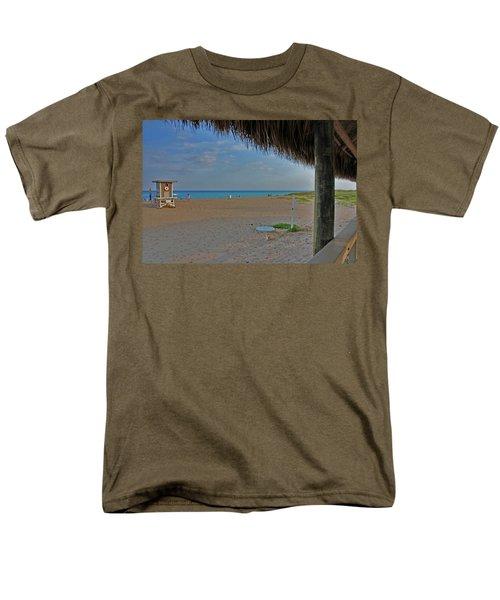 Men's T-Shirt  (Regular Fit) featuring the photograph 7- Southern Beach by Joseph Keane