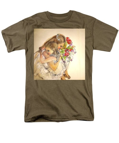 The Wedding Album  Men's T-Shirt  (Regular Fit) by Debbi Saccomanno Chan