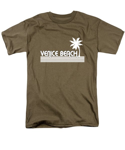 Venice Beach Men's T-Shirt  (Regular Fit) by Brian Edward
