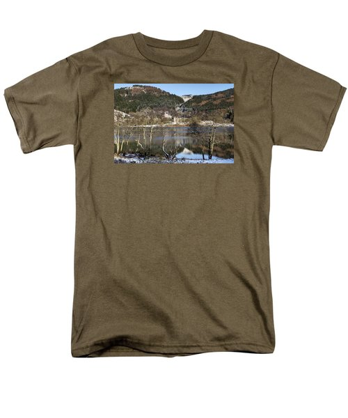 Trossachs Scenery In Scotland Men's T-Shirt  (Regular Fit) by Jeremy Lavender Photography