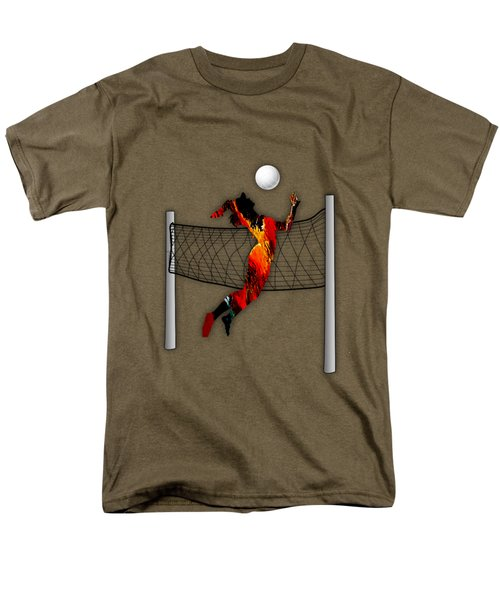 Vollyball Collection Men's T-Shirt  (Regular Fit) by Marvin Blaine