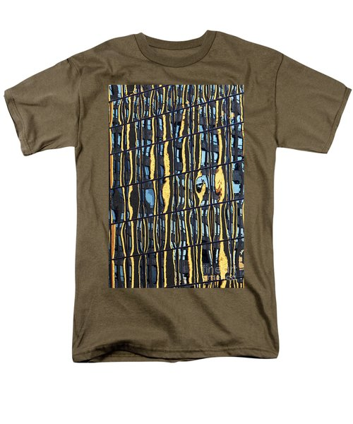 Abstract Reflection Men's T-Shirt  (Regular Fit) by Tony Cordoza
