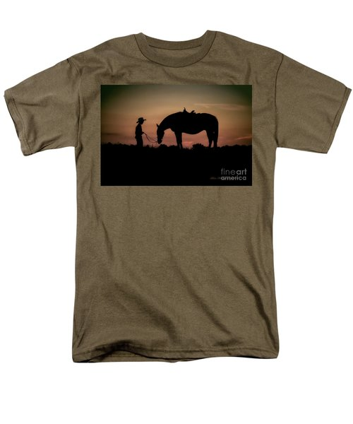 A Boy And His Horse Men's T-Shirt  (Regular Fit) by Linda Blair