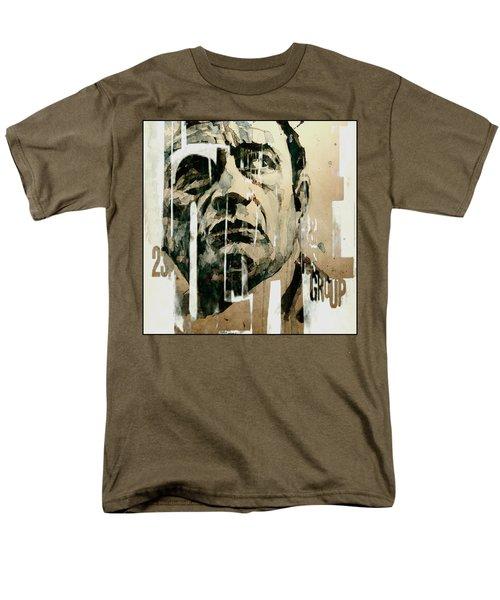A Boy Named Sue Men's T-Shirt  (Regular Fit) by Paul Lovering