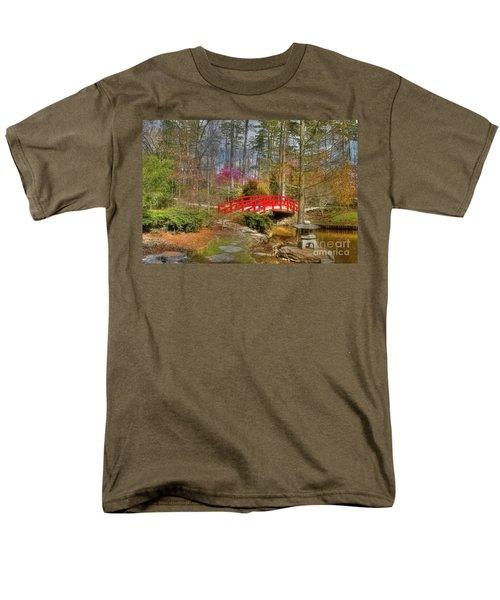 A Bridge To Spring Men's T-Shirt  (Regular Fit) by Benanne Stiens