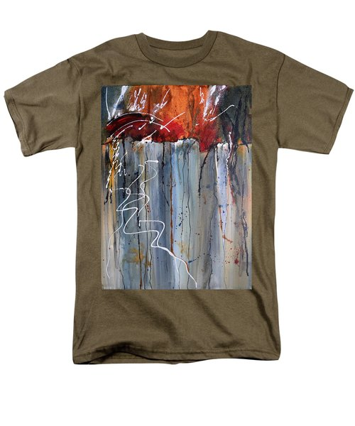 A Burning Issue Men's T-Shirt  (Regular Fit) by Nancy Jolley