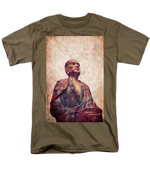 Buddha 5 Men's T-Shirt  (Regular Fit) by Lynn Sprowl