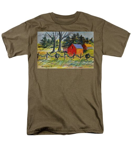 Men's T-Shirt  (Regular Fit) featuring the painting A Change Of Season by John Williams