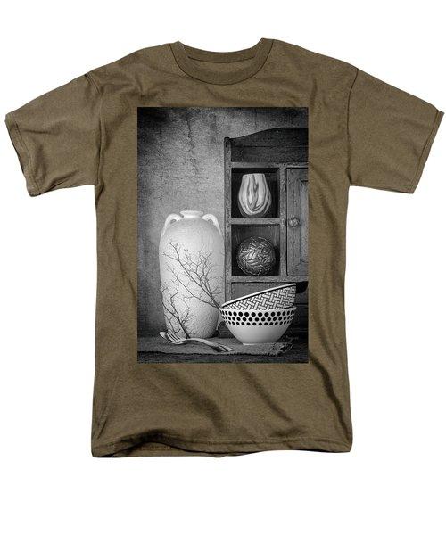 Men's T-Shirt  (Regular Fit) featuring the photograph A Corner Of The Kitchen by Tom Mc Nemar